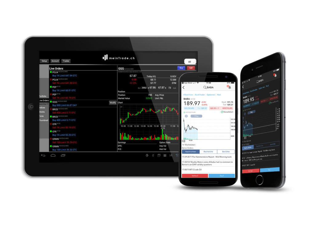Mobile Aktien handeln